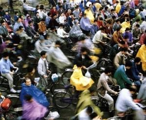 Велосипед в современном Китае