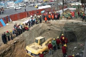 В Китае погибли люди на двух строящихся объектах