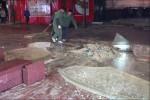 В крупном супермаркете Шанхая лопнул знаменитый аквариум