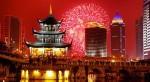 В эти дни все китайцы празднуют в кругу семьи Новый год