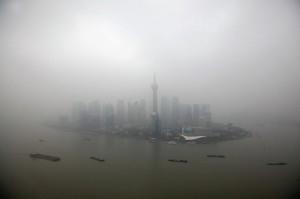 Смог из Китая распространяется на соседние страны