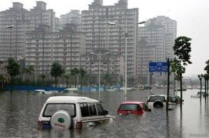 Ущерб от наводнений и засухи
