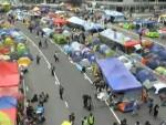Лидеры движения «Оккупируй централ» призвали протестующих сдаться