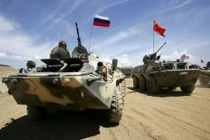 Военные учения Россия-Китай