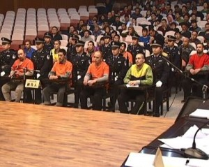 Суд над виновными в теракте Китай