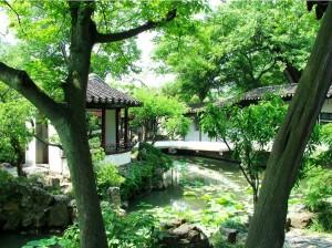 1. Парк Чжуочжен (Сад Скромного Чиновника)