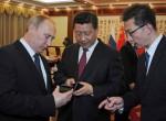 Си Цзиньпин получил в дар от президента России смартфон YotaPhone-2