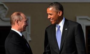 Встреча Путина и Обамы