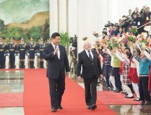 Начало тесного партнерства между Китаем и Ирландией