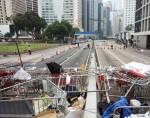 В Гонконге разбирают лагерь демонстрантов «Оккупируй централ»