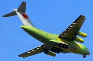 Китайский самолёт Юнь-12