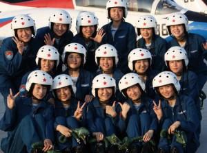 16 китайских женщин стали военными пилотами