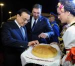 Визит премьер-министра КНР Ли Кэцяна в Сербию