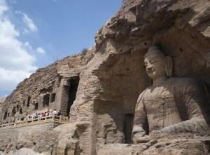 Изображение Будды в скале