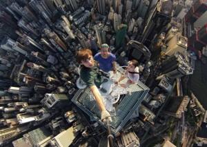 Русские экстремалы в Гонконге