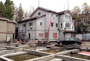 строение школы в Китае