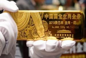 Золотые запасы Китая