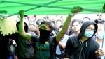 Полиция демонтирует баррикады  «Оккупируй централ» в районе Монгкок