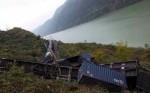 Оползень стал причиной аварии на ЖД в Китае
