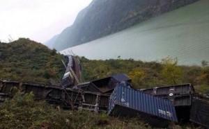 авария на ЖД в Китае