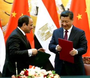 Главы КНР и Египта заключили соглашение о сотрудничестве