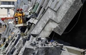 38 человек погибло в результате землетрясения в Тайване