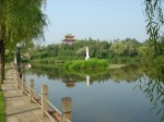 Курорт Танганцзы с двумя источниками минеральных вод