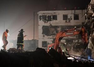 Взрыв в Шэньси