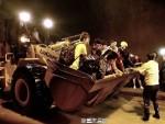 В городе Чунцин десятки человек остаются заблокированными в железнодорожном тоннеле