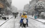 В Китае более 3 миллионов человек пострадали от снегопадов