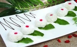 5. Пирожные из отварного риса со сладкой начинкой