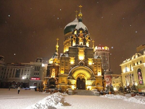Православный крупный храм в Харбине