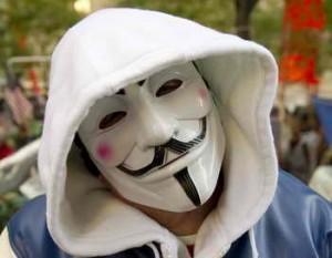 Организация хакеров Anonymous поддержала протестующих в Гонконге