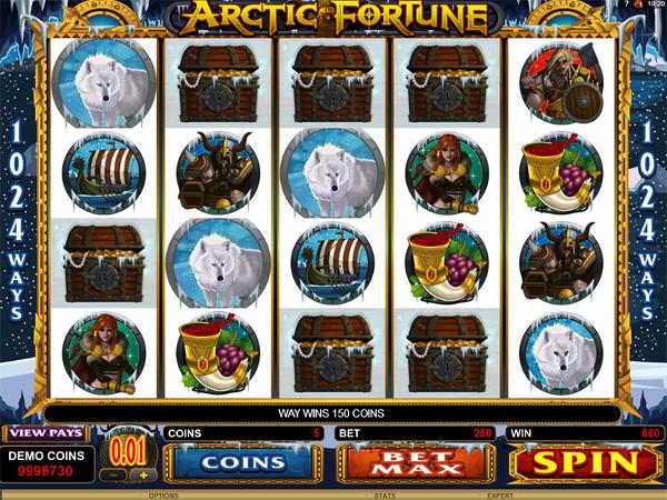 Arctic Fortune - игровой автомат на деньги в Казино Вулкан1