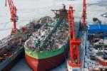 В Китае подходит к концу строительство крупнейшего судостроительного предприятия в мире