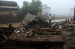 Череда оползней в Китае привела к человеческим жертвам