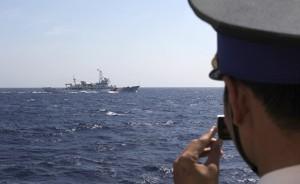 Четыре китайских военных судна вошли на спорную территорию в Восточно-Китайском море