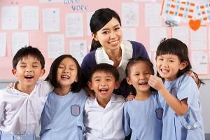 Число учителей в Китае достигло 3 миллионов