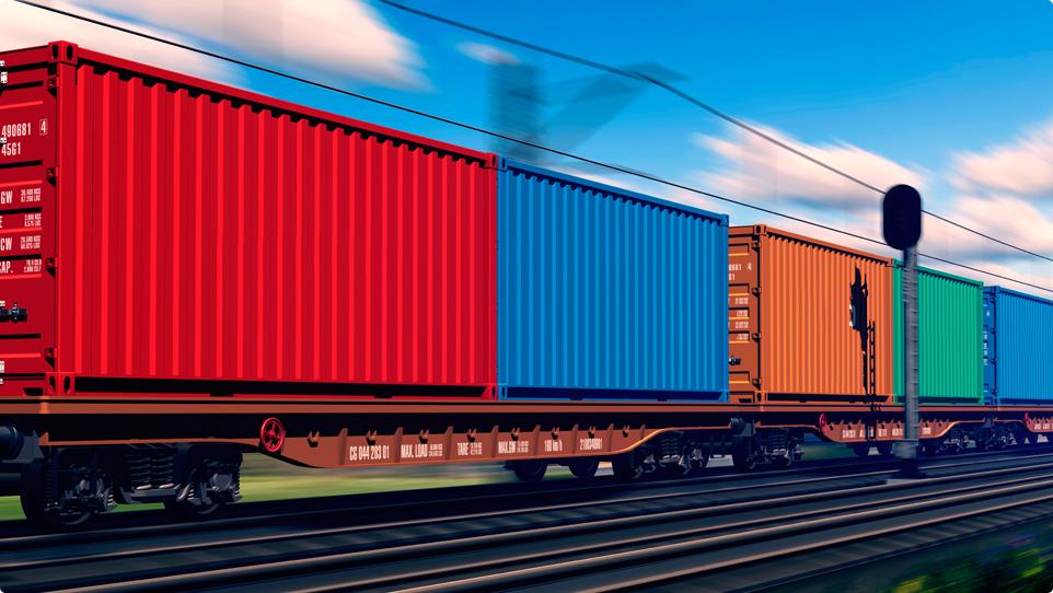 Доставка грузов из Китая поездом