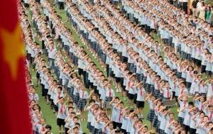 Физкультура в школах Китая