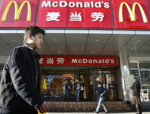 McDonald's opened 177 new stores in China last year.