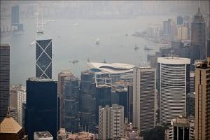 Гонконг - вид с Пика Виктории