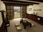 Гостиная в китайском стиле
