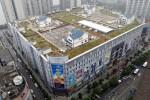 Китайское строительство домов на крыше