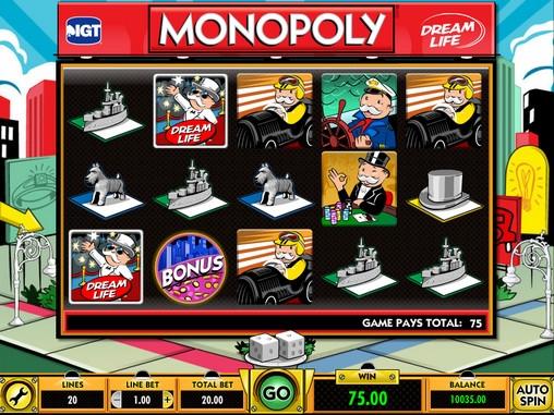 Игровой автомат Monopoly 3
