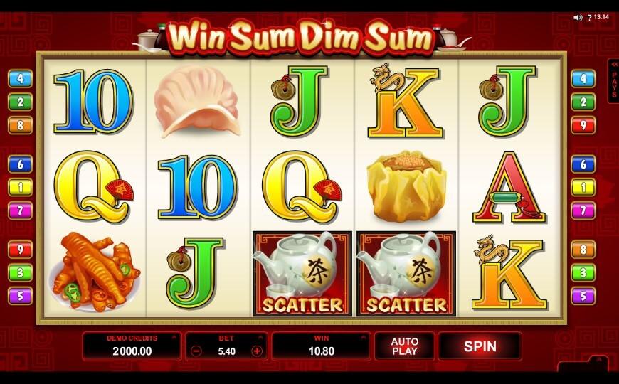 Игровой автомат Win Sum Dim Sum2