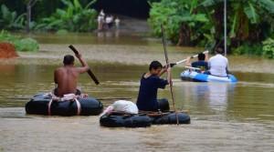 Из-за ливней и наводнение в Китае погибли 26 человек