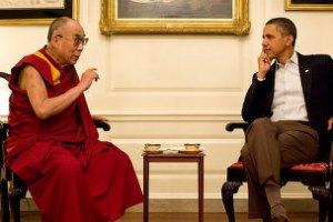 КНР возмущен встречей Далай-ламы и Барака Обамы