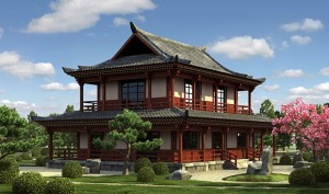 Как спроектировать и построить дом в китайском стиле