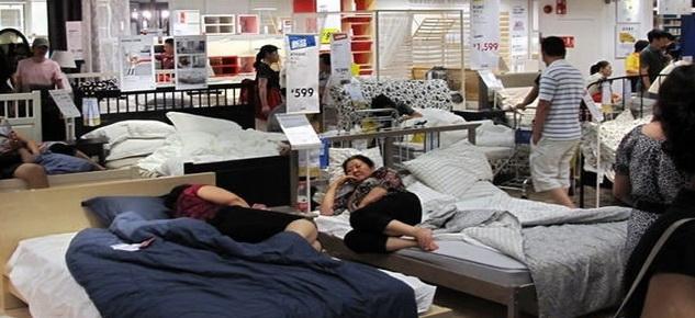 Как жители Китая спасаются от жары2